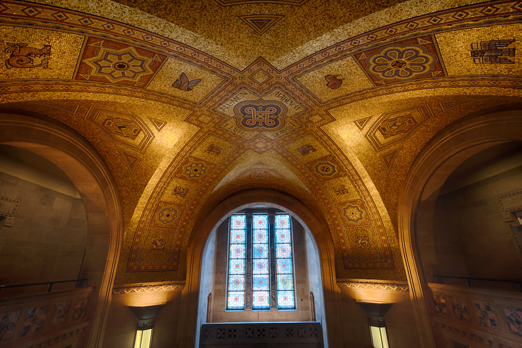 Ceiling of the Royal Ontario Museum